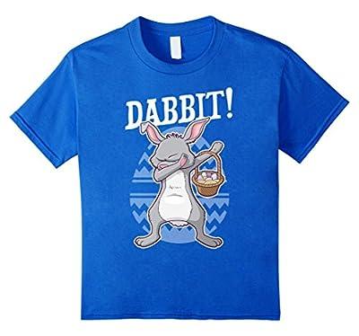 Dabbing Easter Bunny Shirt Funny Kids Dabbit