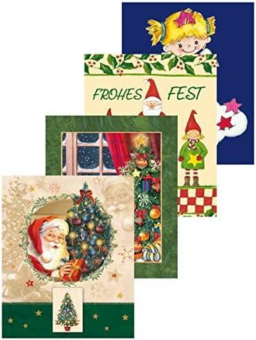 Motiv 3er Packung Pinguin Susy Card 40004129 Weihnachts-Anh/ängerkarten