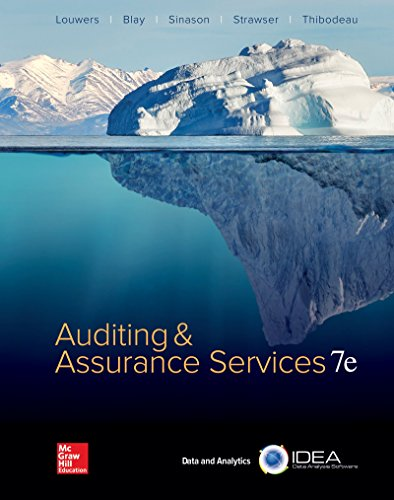 Loose Leaf for Auditing & Assurance Services