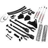 Rough Country - 584.20 - 6-inch 4-Link Suspension Lift Kit w/ Premium N2.0 Shocks for Ford: 08-10 F250 Super Duty 4WD, 08-10 F350 Super Duty 4WD