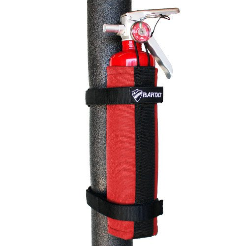 Bartact 1 Lb Fire Extinguisher Holder - Red