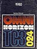 1978 Plymouth Horizon Dodge Omni Service Manual