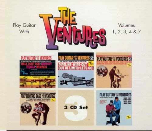 Play Guitar With The Ventures, Vols. 1-4 & 7 by One Way Records