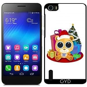 Funda para Huawei Honor 6 - Oso De Peluche - Navidad by Adamzworld