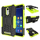 Xiaomi Redmi Note 3 Armor Case DWaybox 2in1 Combo Hybrid Rugged Heavy Duty Hard Back Case Cover with kickstand for Xiaomi Redmi Note 3 / Redmi Note 3 Pro 5.5 Inches (Green)