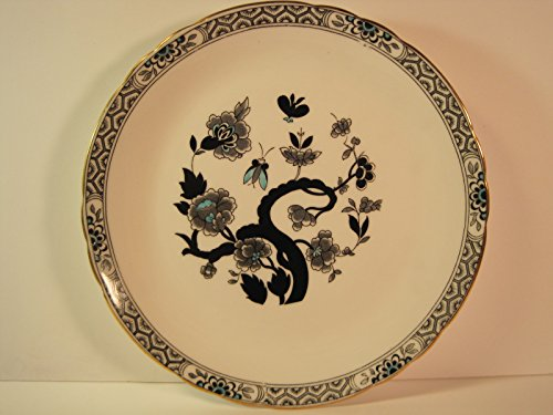 (Tuscan Display Plate,Asian-Inspired Design, Fine English Bone China, 8 Inches )