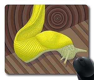 "Rectangle Mouse Pad Banana Slug Durable Rubber Customized Mousepad 220mm*180mm*3mm (9""*7"") -WS82041"