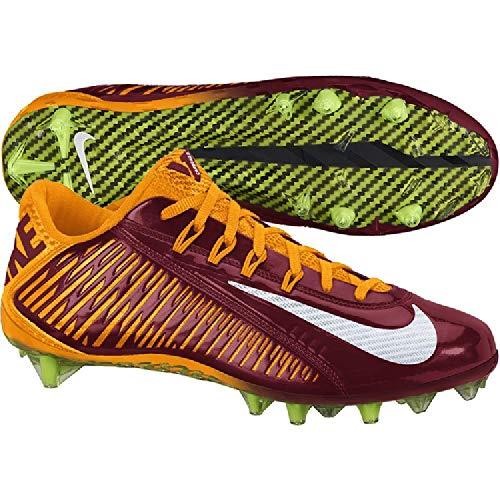 Nike Vapor Carbon Elite TD 657441-632 Washington Redskins Men's Football Cleats 12.5 US -