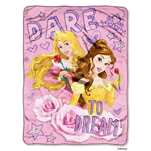 Micro Raschel Throws - Disney - Princess Dare to Dream Fleec