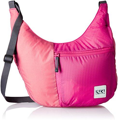 Wildcraft Polyester Pink Messenger Bag (Wiki Grab-it : Wiki : Pink)