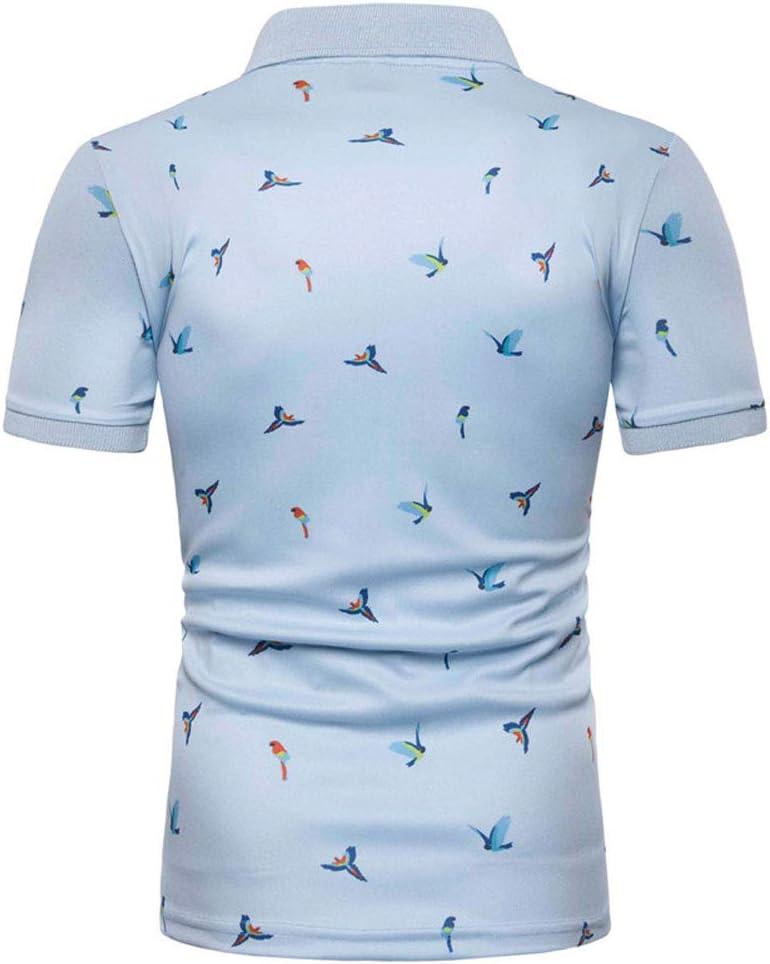 ZISIJI Camisa Polo a Juego de Color para Hombre/Camisa de Polo de ...