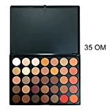 Kanzd New 35 Colors Renaissance Eye Shadow Makeup Cosmetic Shimmer Matte Eyeshadow Palette Cosmetic (D)
