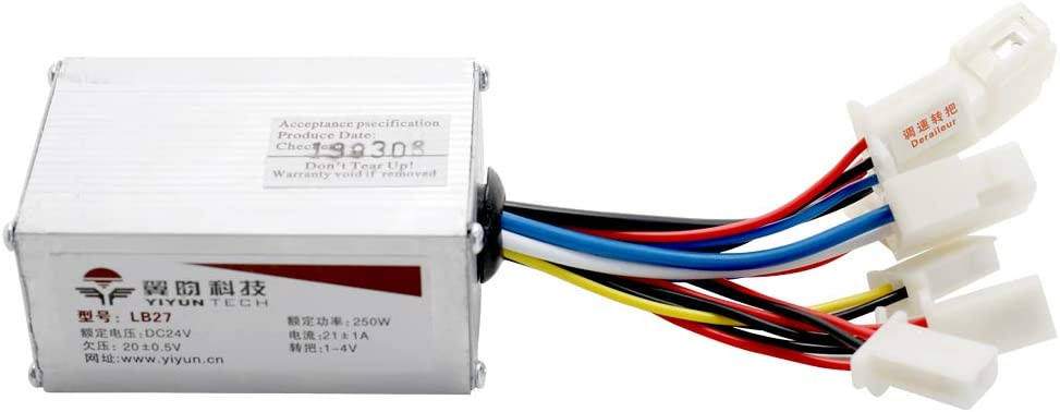 Alomejor Gear Reduction Motor 12V 250W Electric Reduction Motor with Triangle Board for Electric Bicycle E-bike
