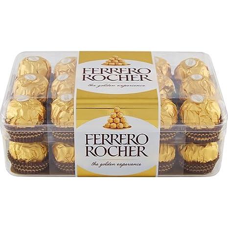 Ferrero Rocher - Pralinés de chocolate - 375 g: Amazon.es: Alimentación y bebidas