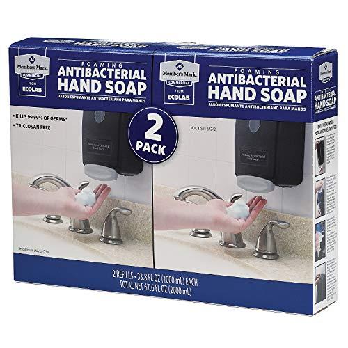 Member's Mark Commercial Foaming Antibacterial Hand Soap (2 pk.) (pack of 6) by Members Mark (Image #3)
