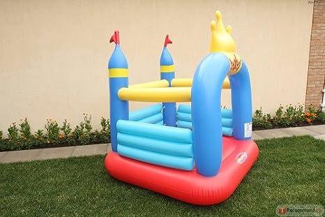 Amazon.es: Mini Castillo Hinchable - Crown Jumping Castle: Juguetes y juegos