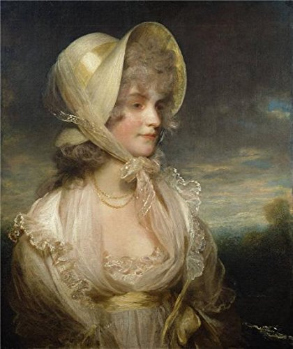(The Perfect Effect Canvas Of Oil Painting 'John Hoppner - The Hon. Lucy Byng, Late 18th Century' ,size: 12x14 Inch / 30x36 Cm ,this Art Decorative Canvas Prints Is Fit For Laundry Room Artwork And Home Decoration And Gifts)