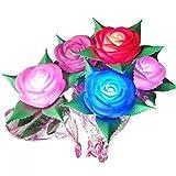 LED high-fidelity Garden Rose Flower Small Christmas Night Light Halloween Valentine's Day Romantic for Lovers