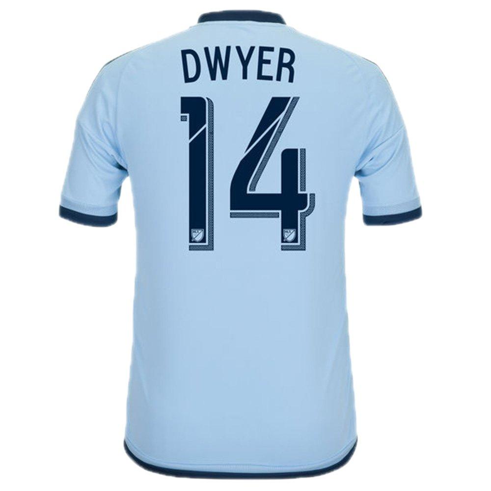 Adidas DWYER #14 Kansas City Sporting Camiseta 1ra 2016 (Azul Claro) (Tamaño De Los EE.UU) (US size_2XL): Amazon.es: Deportes y aire libre