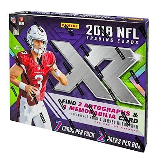 2018 Panini XR NFL Football HOBBY box (2 pk)