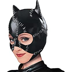 Rubie's Costume Co Women's Batman DC Style Guide Catwoman Mask, Black, One Size