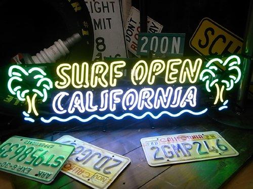 アメリカ西海岸 サーフ カリフォルニア サーフ オープン B00JQRZ8EQ ネオン管/ネオンサイン/ネオン看板 オープン B00JQRZ8EQ, ウキハマチ:0049258f --- m2cweb.com