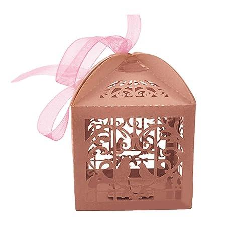 Amazon.com: LFOEwpp7 Cajas de caramelos, 50 unidades/set de ...