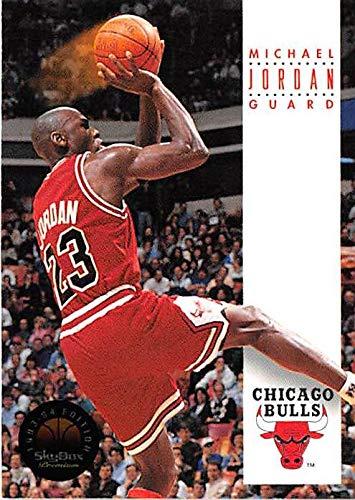c8ced24786bcb8 Michael Jordan basketball card (Chicago Bulls MJ) 1993 Skybox Premium  45