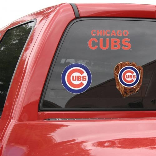 WinCraft MLB Chicago Cubs 63101951 Multi Use Decal, 11