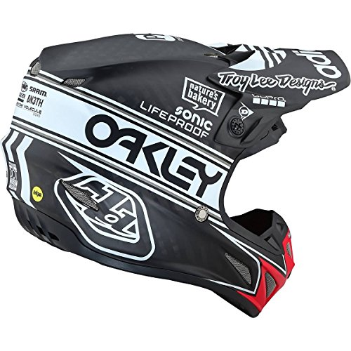Troy Lee Designs SE4 Carbon Team Edition 2 Adult Off-Road Motorcycle Helmet - Black/Medium