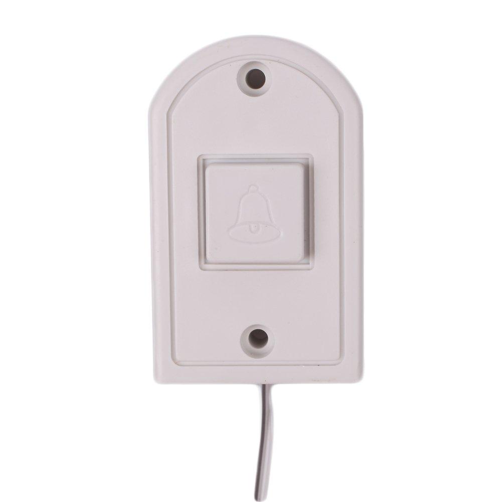 CAIDUD Portable de s/écurit/é /à la Maison de Sonnerie de Sonnette dentr/ée /électronique de Fil Ding Dong