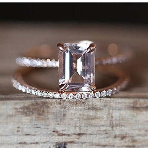 Stacking Matching Personalized Infinity Mothers Ring Engagement Promise Rings for Women by NIKAIRALEY Jewelry (Image #3)