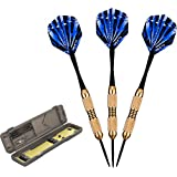 Fat Cat Deluxe Steel Tip Darts with Storage/Travel Case, 23 Grams