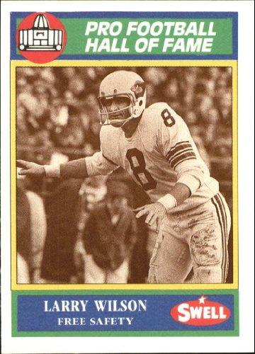 (1990 Swell Greats Football Card #95 Larry Wilson Mint)