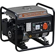 Dirty Hand Tools 101174, 1000 Running Watts/1200 Starting Watts, Gas Powered Portable Generator, EPA & CARB Compliant