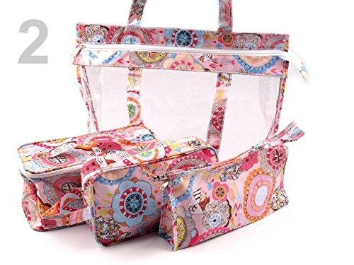 4er Set Strand Taschenset Taschen 35x45cm 2*NEU*OVP*
