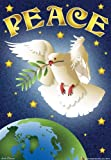 Peace on Earth Dove House Flag