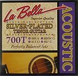 LaBella 700T Tenor Silver-Plated