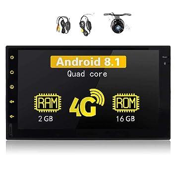 7 Pulgadas Android 8.1 Radio de Coche estéreo Quad Unidad ...