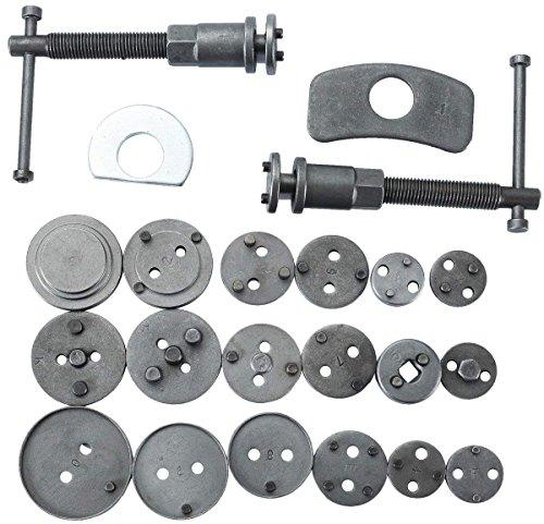 DASBET 22pcs Universal Disc Brake Caliper Piston Compressor Wind Back Repair Tool Kit for Cars by DASBET (Image #3)