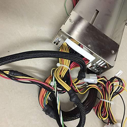SAUJNN,pc Power Supply YH-8651B 650W 1U Server REDUNDANT Power Supply CAGE,PN:YH8651B-XBA11R Power Supply case