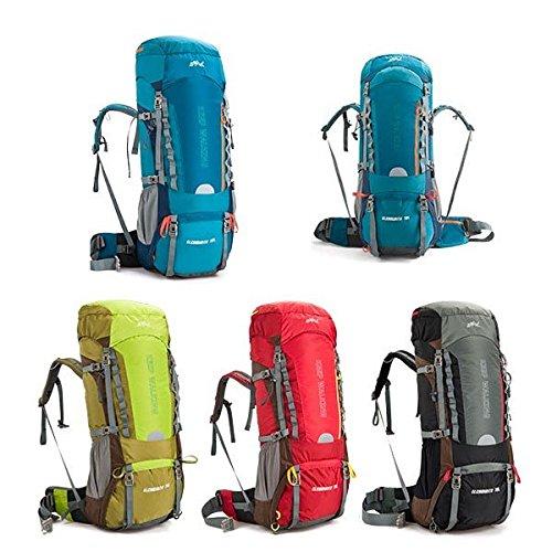 Outdoor-Camping Wandern Trekking-Rucksack-Spielraum Wasserdichte Umh_ngetasche 60L 70L