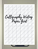 img - for Calligraphy Writing Paper Grid: Arabic Alligraphy For Beginners , Calligraphy Set for Left Hand Beginners , Calligraphy Workbook Classic book / textbook / text book
