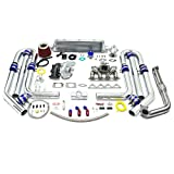 turbo upgrade kit - High Performance Upgrade T04E T3 13pc Turbo Kit - Honda D-Series Ram Horn Manifold
