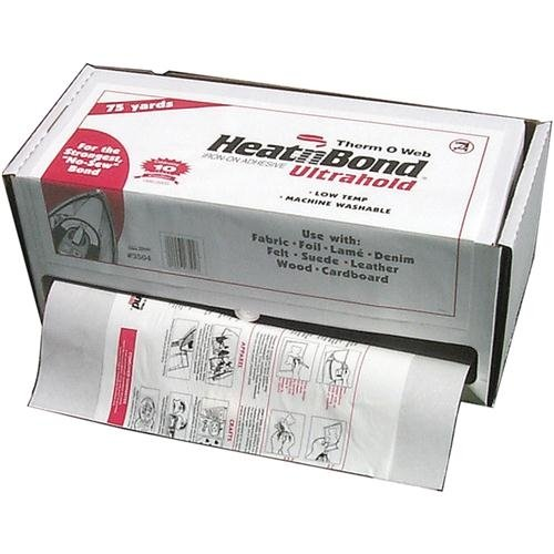 Heat N Bond Adhesive-17''X 75Yd by THERMOWEB
