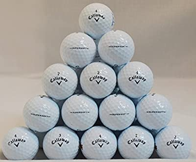 Callaway 36 Supersoft 5A Grade Golf Balls - White