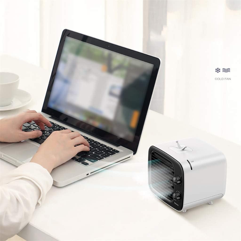 ZDstore USB de Escritorio Mini Aire Acondicionado Ventilador de ...