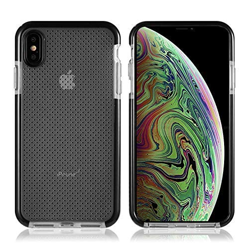 Tech Junkie Compatible iPhone Xs Max Plus Ultra Thin Transparent with Flexible Silicon Slim Fit Protection Case iPhone Xs Max