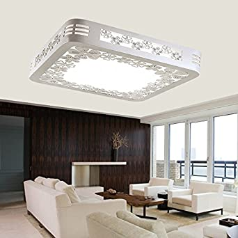 Lilamins Led Ceiling Light Led Square Modern Living Room Bedroom