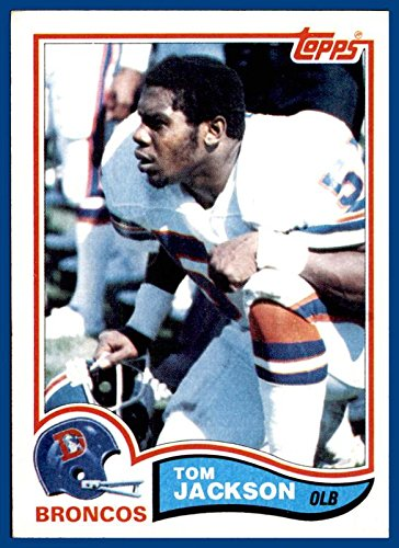 1982 Topps #80 Tom Jackson DENVER BRONCOS LOUISVILLE CARDINALS (nrmt)